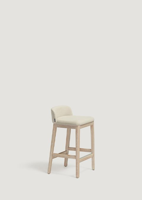 Concord Low Barstool Wooden Base