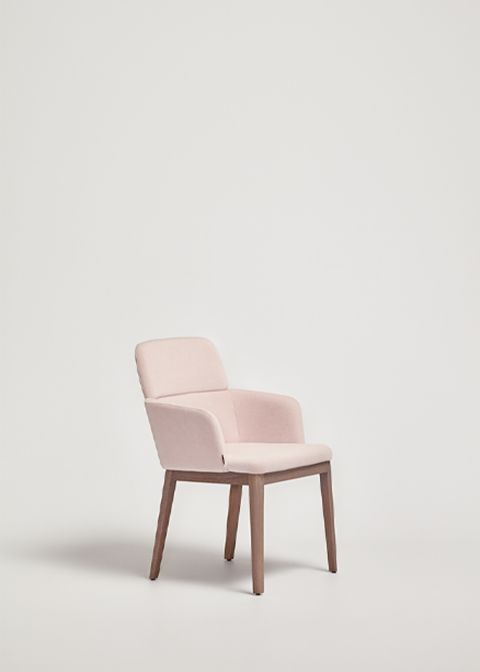 Concord Armchair Wooden Base