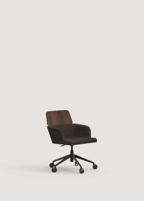 Concord Office Armchair With Wheels