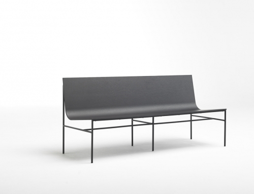 The new A-Collection bench designed by Fran Silvestre